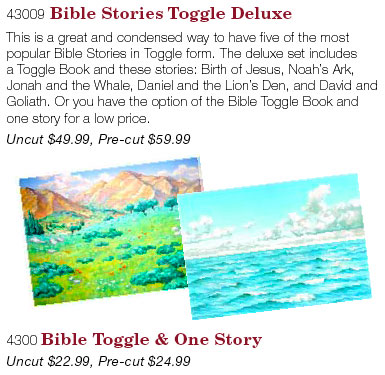 Bible Story Quiet Books