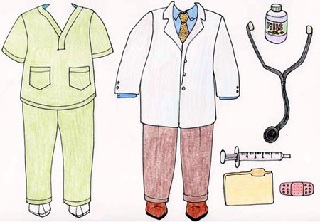 Doctor Dentist Dressup