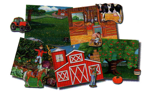 Down on the Farm Quiet Book