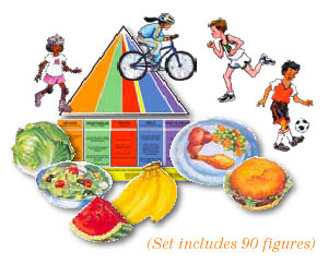 Food Pyramid Fitness