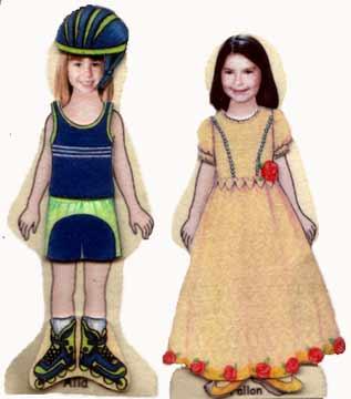 Girl Photo Doll