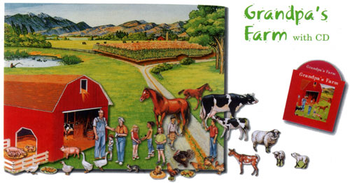 Grandpa's Farm with CD