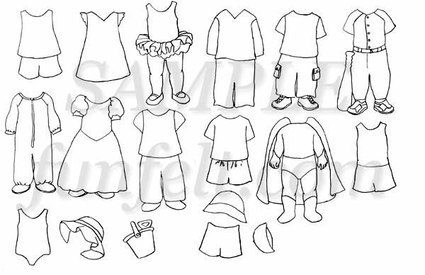 Color My Own Toddler Clothes