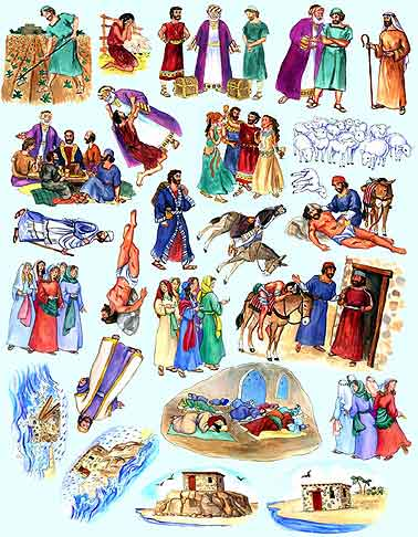 The Parables of Jesus Flannel Board Story