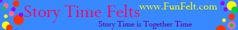 Story Time Felts Banner