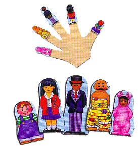 Where is Thumbkin Finger Puppets
