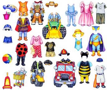 Baby Paper Doll Clothes