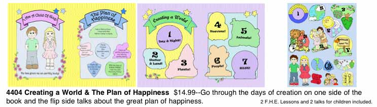 Creating a World and Plan of Happiness Quiet Book